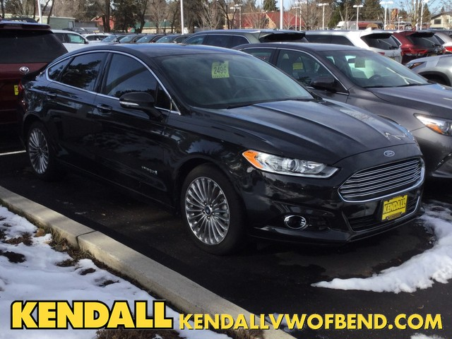 Pre Owned 2013 Ford Fusion Titanium Hybrid Front Wheel Drive Sedan