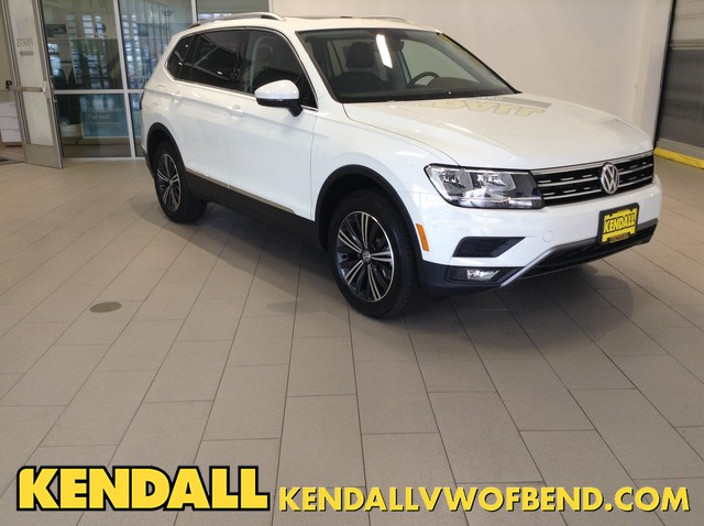 New 2018 Volkswagen Tiguan SEL with 4MOTION®