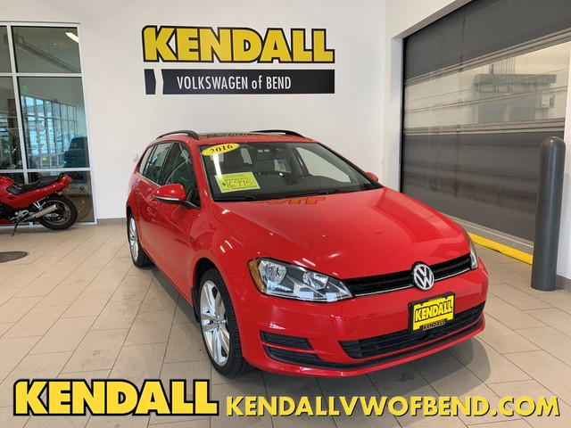 Pre Owned 2016 Volkswagen Golf Sportwagen Tsi Limited Edition